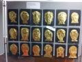 Goldmasken nach ägypischem Vorbild